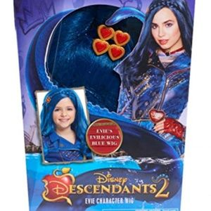 DISNEY DESCENDANTS 2 NEW Evie Blue Character Wig